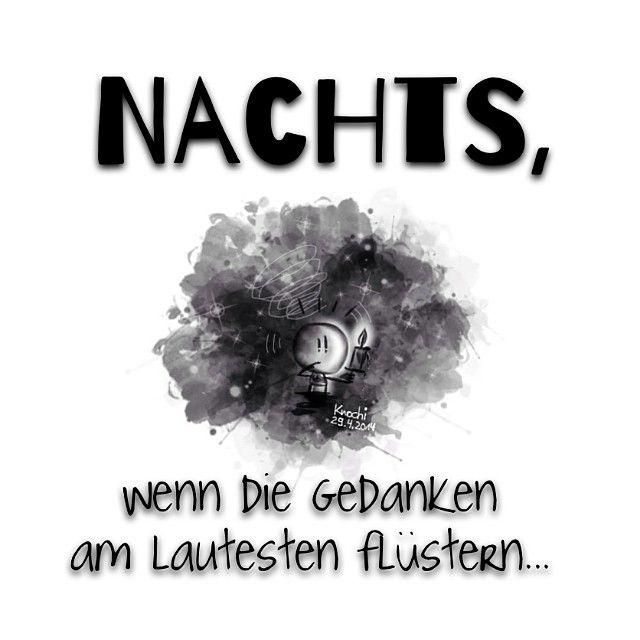 #Nachts wenn die #Gedanken am lautesten #flüstern ...Ihr kennt das ...!?   #sketch #sketchclub # - knochi_art