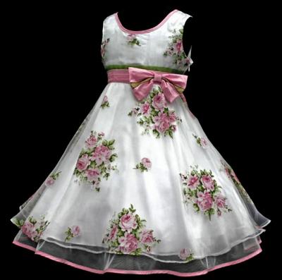 vestidos para niñas para boda | patrones vestidos niñas | Pinterest ...