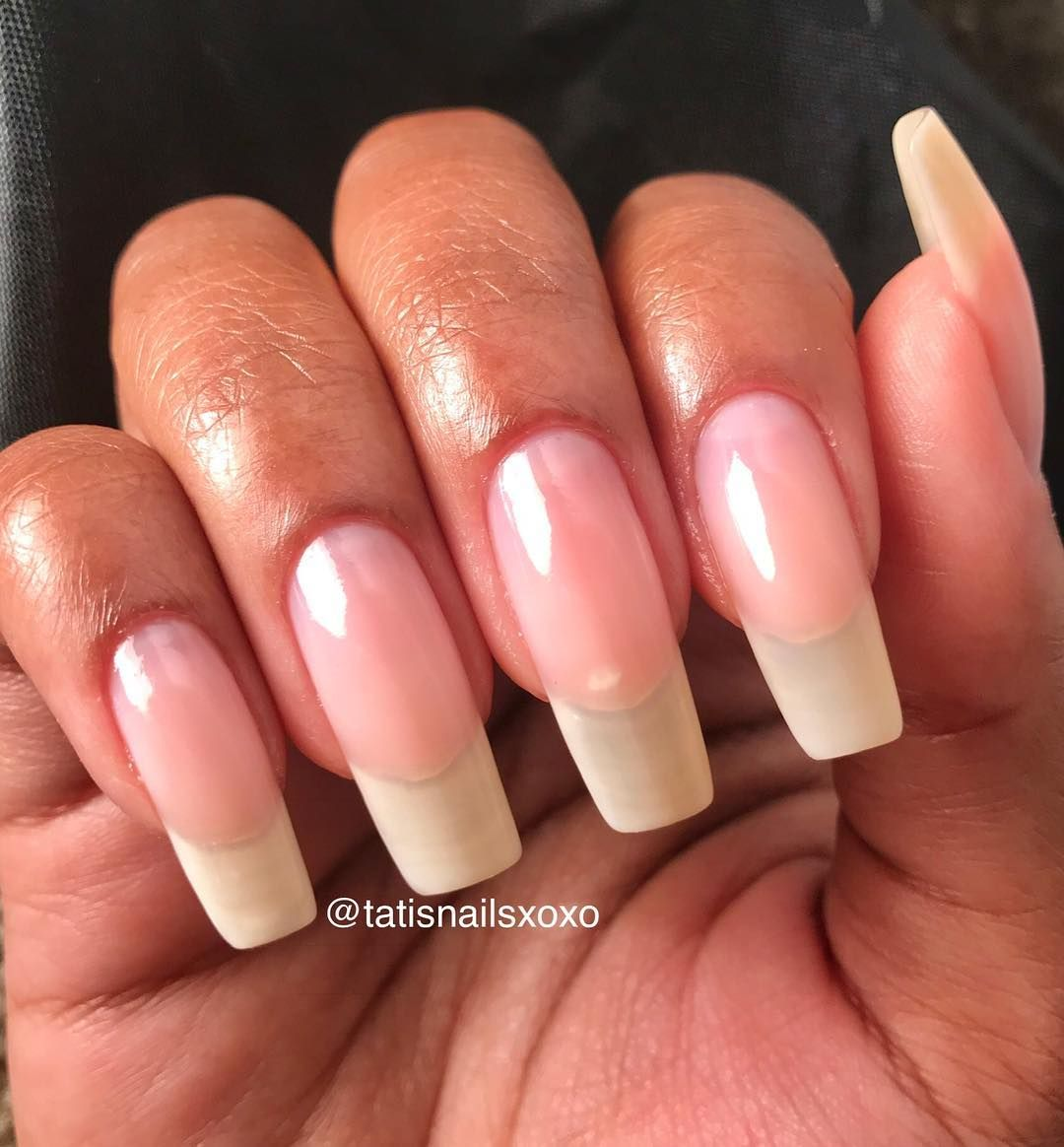 Natural Nails Comment Your Favorite Shape Ok So Having The Square Shape Is So Exhausting Because I Had To File Them Natural Nails Lilac Nails Nails