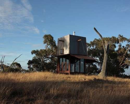 Casey Brown Architecture Presents Permanent Camping in Australia #architecture trendhunter.com