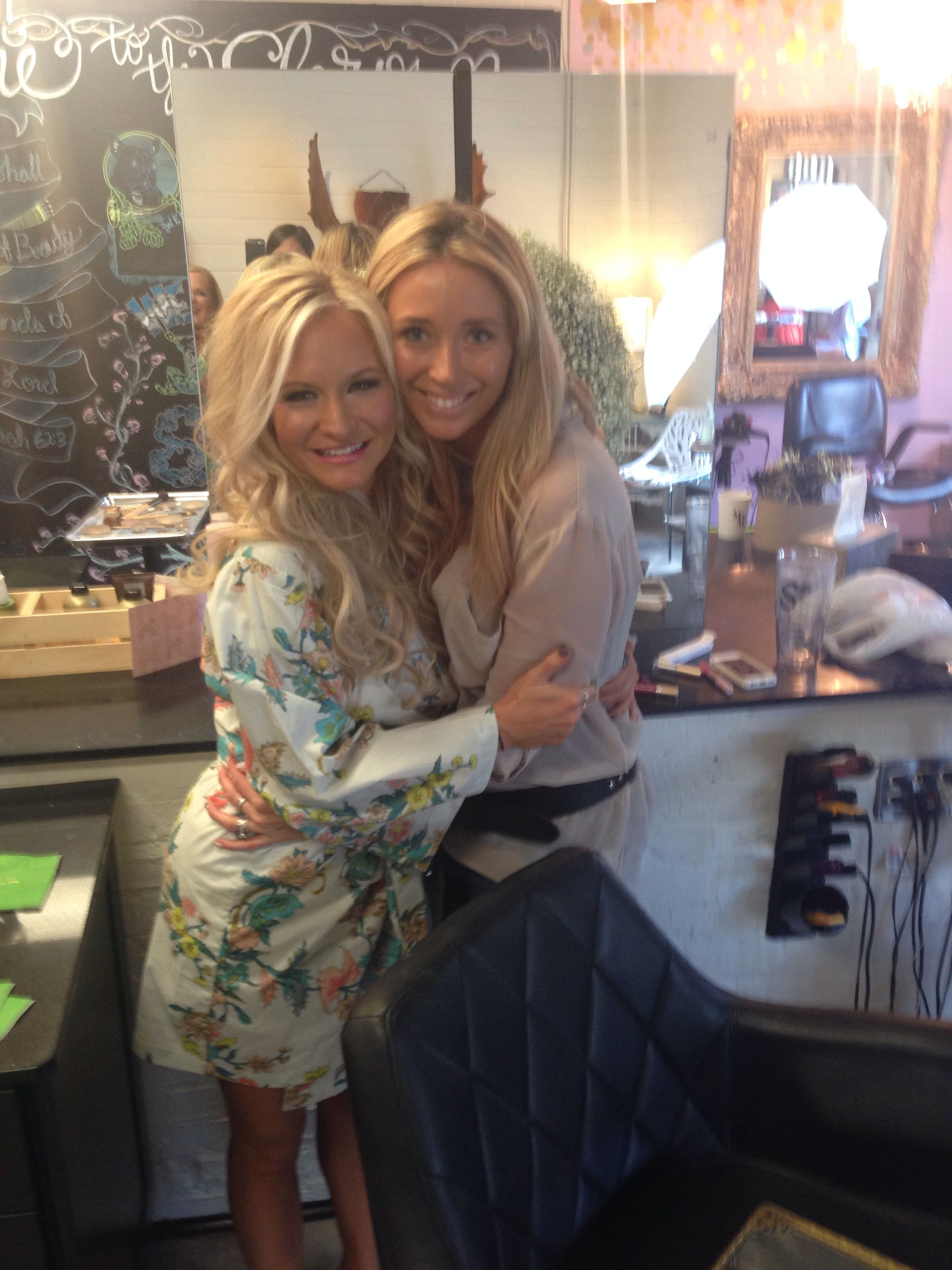 kirsten and kelly stuckey from crown beauty bar in