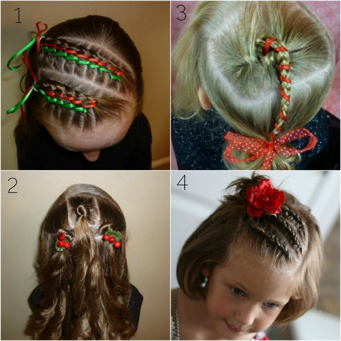 Christmas Hairstyles For Girls.Christmas Hairstyles For Younger Girls Hair Hair Styles