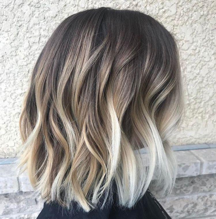 Beach Waves Capelli Corti Bibb Hair Short Hair Styles E Hair Styles