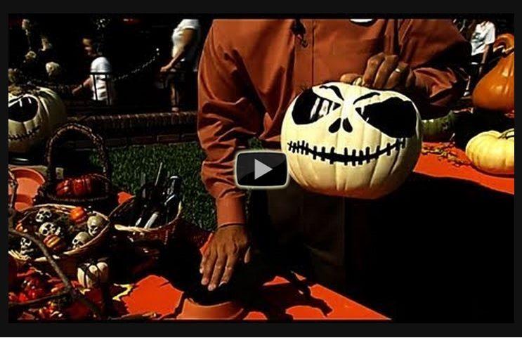 Halloween decorating craft tips video from Disneyland Resort\u0027s David