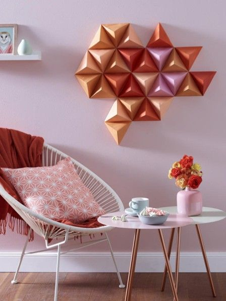 diy tipp wandbild in cooler 3d optik diy inspirationen pinterest w nde wandbilder und. Black Bedroom Furniture Sets. Home Design Ideas