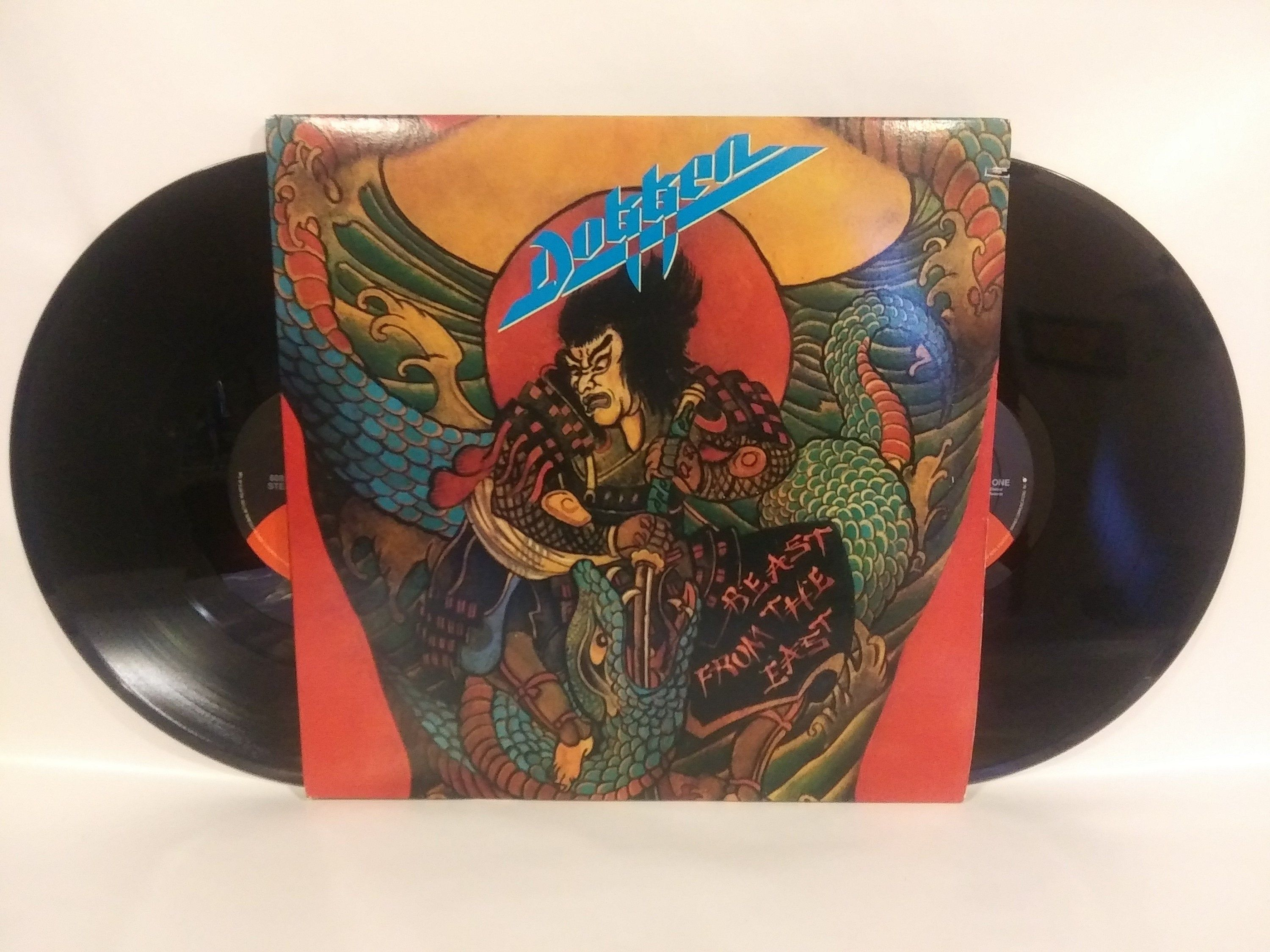 Dokken Beast From The East 2 Lp Vinyl Record Live Set By Theposterposter On Etsy Beast From The East Vinyl Records Vinyl
