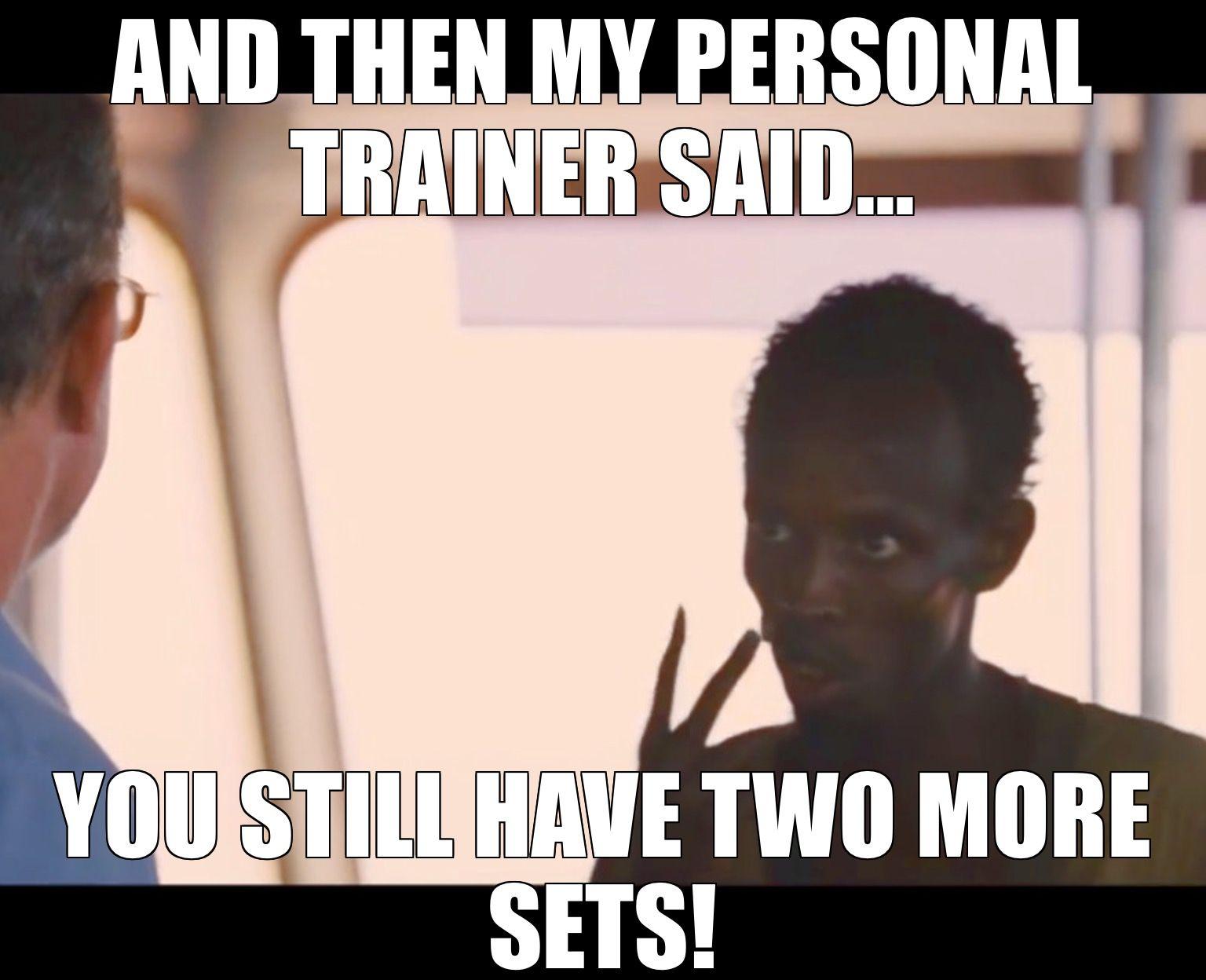 personal trainer meme fitness consultation website humor