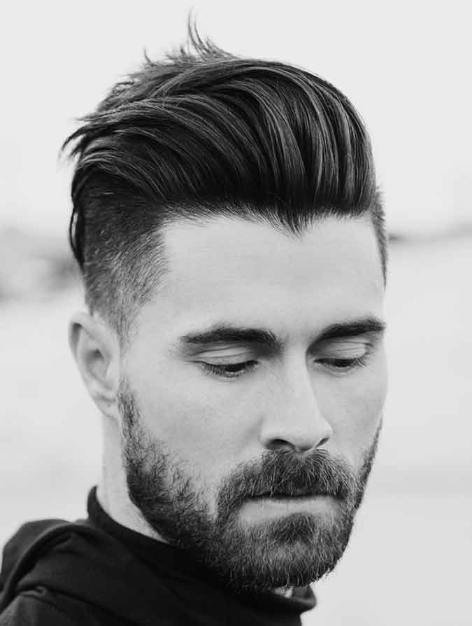 Intimidating mens haircuts for thick hair