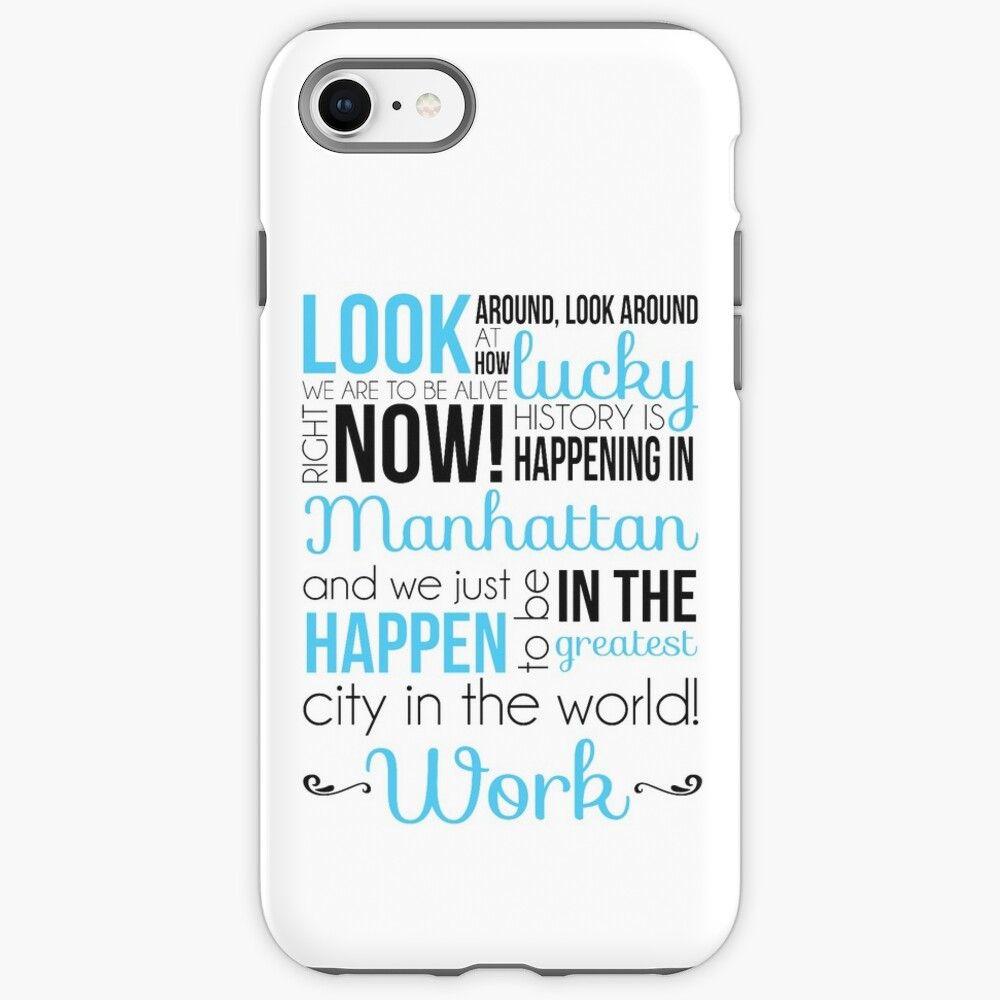 'Schuyler Sisters - lyrics' iPhone 12 - Soft by mcompton