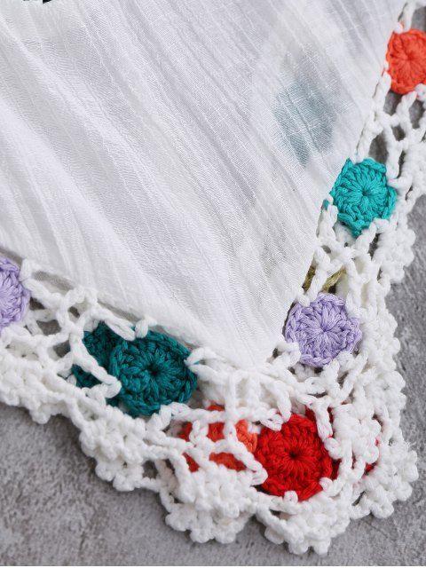 Crochet Chevron Beach Cover-Up Tunic | Vestido playero, Ganchillo y ...