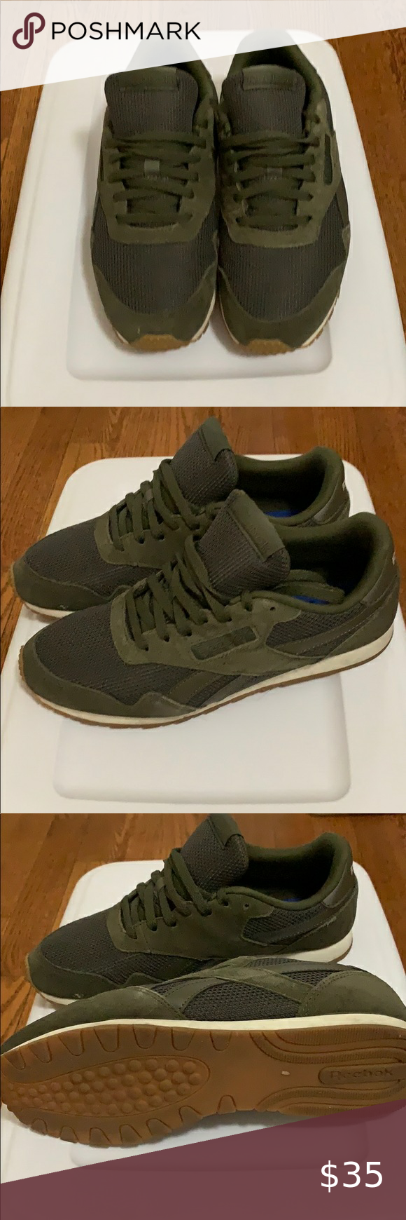 simultáneo cola Series de tiempo  Reebok royal ultra classic olive green sneakers in 2020 | Olive green  sneakers, Green sneakers, Sneakers
