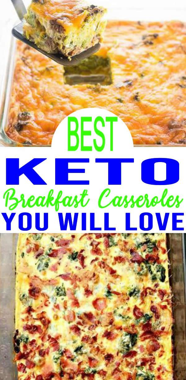 EASY Keto Breakfast Casserole! Low Carb Breakfast Ideas – Quick – Healthy – Mornings – Make A... EASY Keto Breakfast Casserole! Low Carb Breakfast Ideas – Quick – Healthy – Mornings – Make Ahead – Ketogenic Diet Recipes