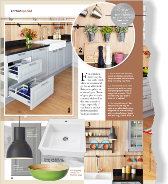 Clipped from pages 36, 37 of Better Homes and Gardens, Apr 2014 issue by the Netpage app.