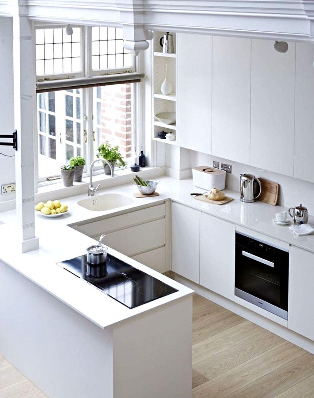 59bf472e4a01 Inspiring Small Modern Kitchen Design Ideas 17  KitchenCabinets. Visit.  January 2019