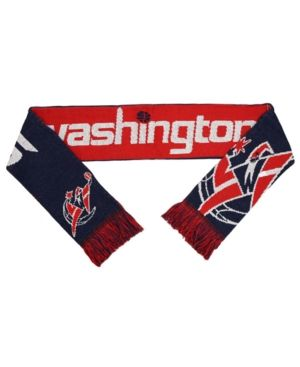 Forever Collectibles Washington Wizards Reversible Split Logo Scarf - Red