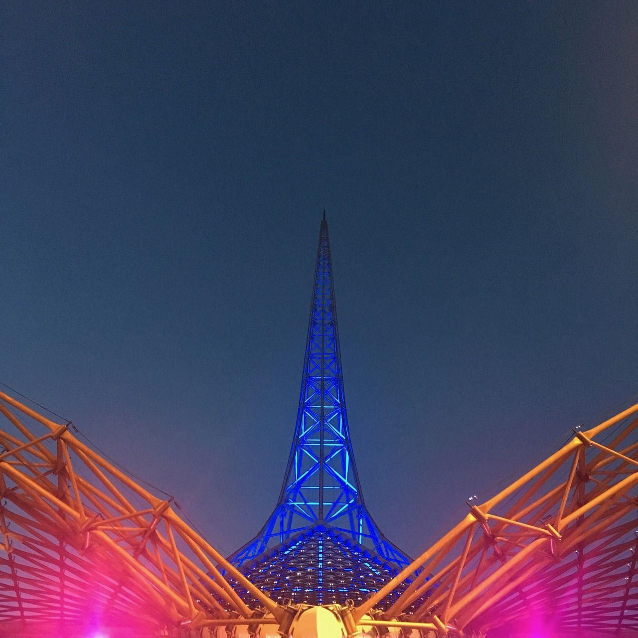 Australia, Melbourne Spire Arts Center Architecture V