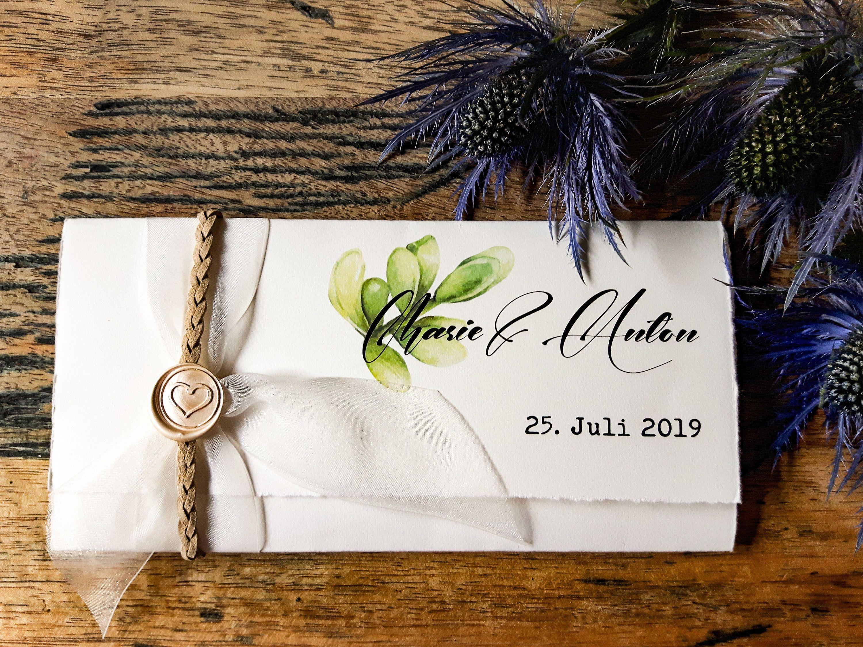 HOCHZEIT EINLADUNG Boho – Einladung Hochzeit Vintage   Einladungskarte   Hochzeitskarten   Hochzeitsbriefpapier   Grün   Böhmischer Chic   – HOCHZEITSEINLADUNG VINTAGE BOHO
