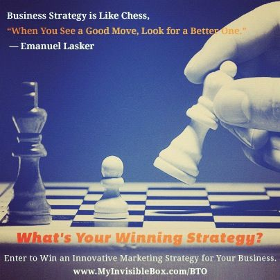 Business Strategy is Like Chess, When You See a Good Move, Look - business strategy