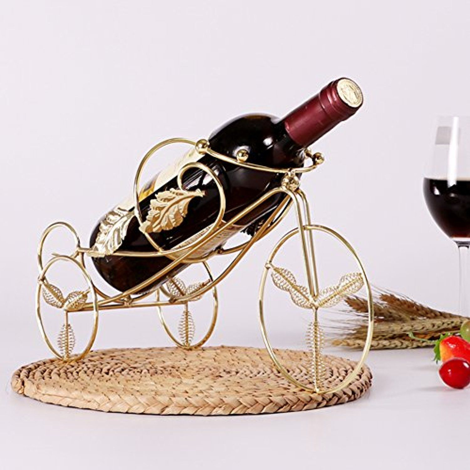 Bike Wine Glass Holdereuropean Wine Cup Rack Stemware Glass Storage