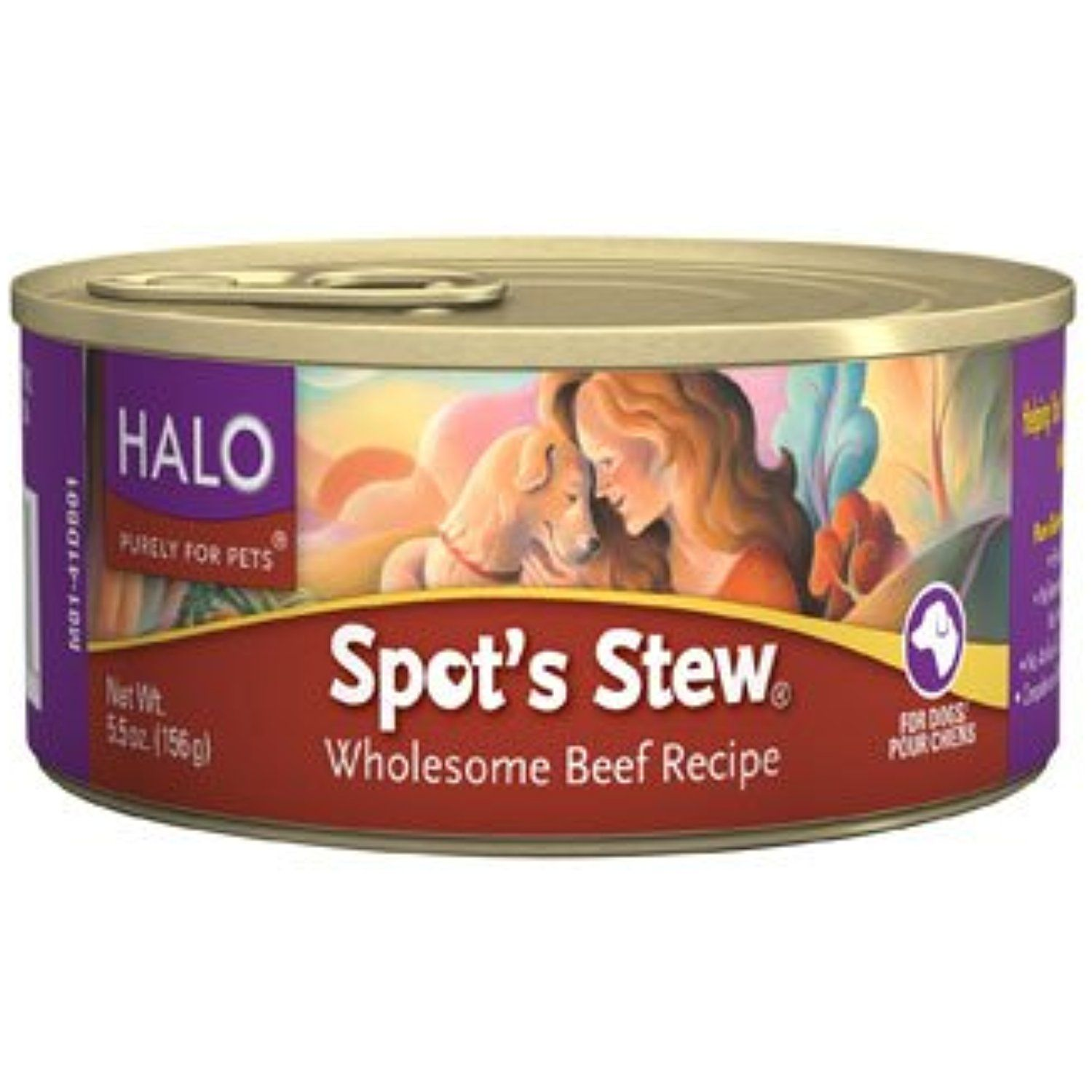 Halo Spot S Stew Wholesome Beef Recipe Canned Dog Food You Can