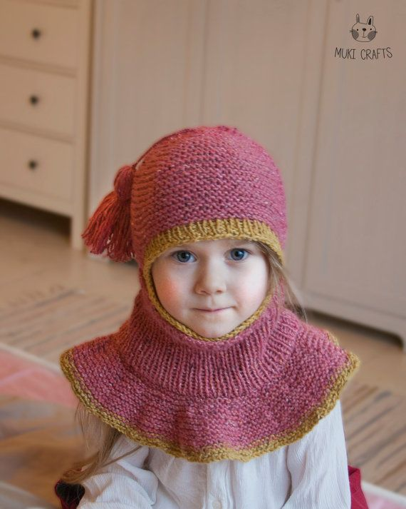 Knitting Pattern Balaclava Sage With Outer Cowl Baby And Kids Yarn