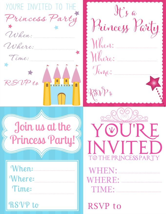 picture relating to Printable Princess Invitations known as Toss a Incredible Princess Social gathering upon a Spending budget: Down load Totally free