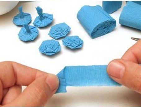 How to make crepe paper flower ball pinterest flower ball crepe how to make crepe paper flower ball mightylinksfo