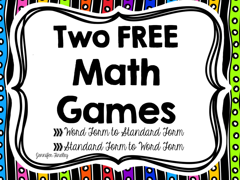 4th Grade Common Core Math Games Free Standard Form Math And