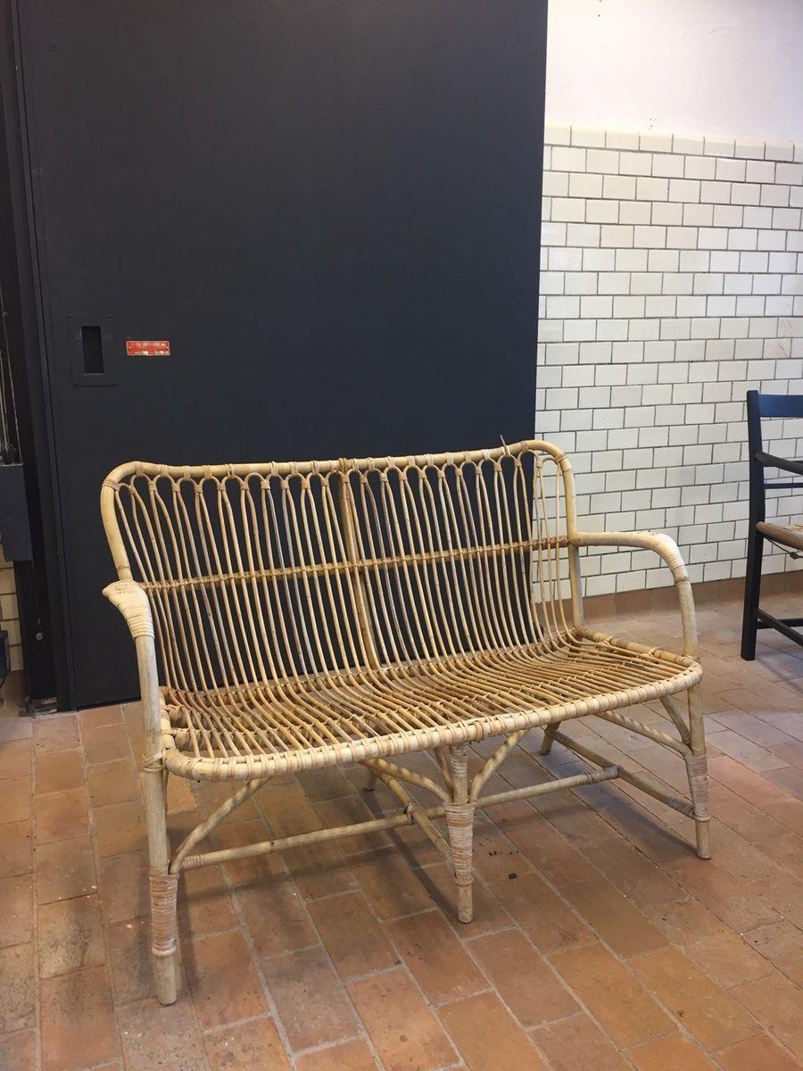 Moderne Bambus Sofa, Vintage – dba.dk – Køb og Salg af Nyt og Brugt FU-55