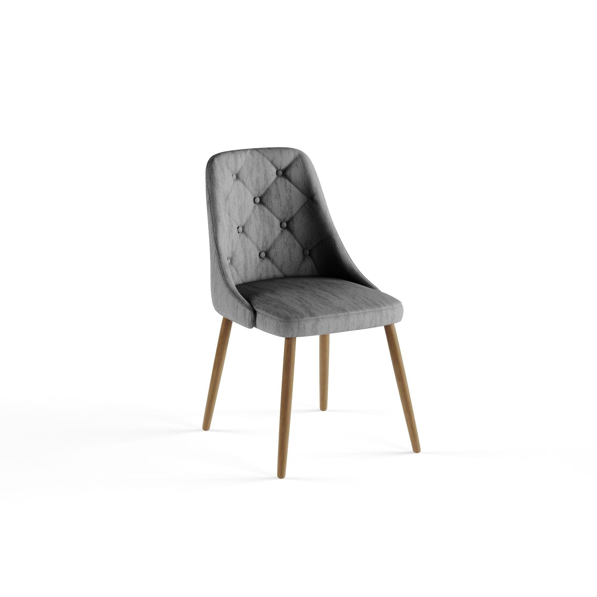 a8c2c78661225 Carson Carrington LumiSource Giovanni Tufted Mid-Century Modern Dining Accent  Chair (