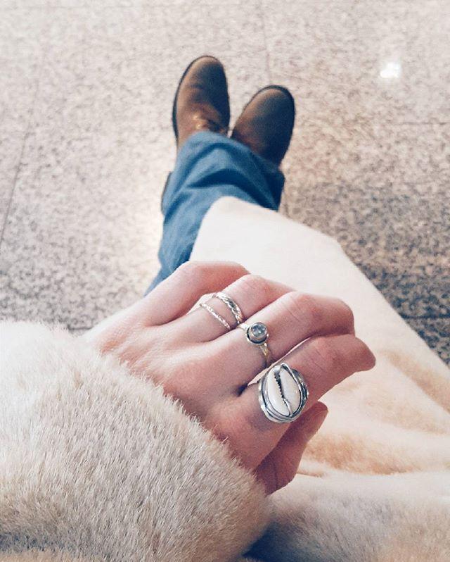 KAURI RING ! Kauri Ring mit Muschel ganz leicht selbermachen | #DIY #cowrie #shell #ring #Muschel #Tutorial