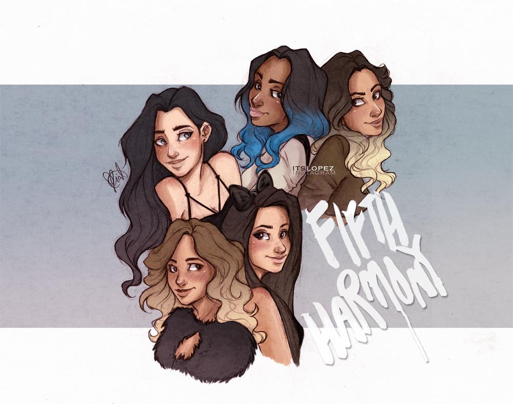 Fifth Harmony By Itslopez On Deviantart Itslopez Fifth Harmony Art