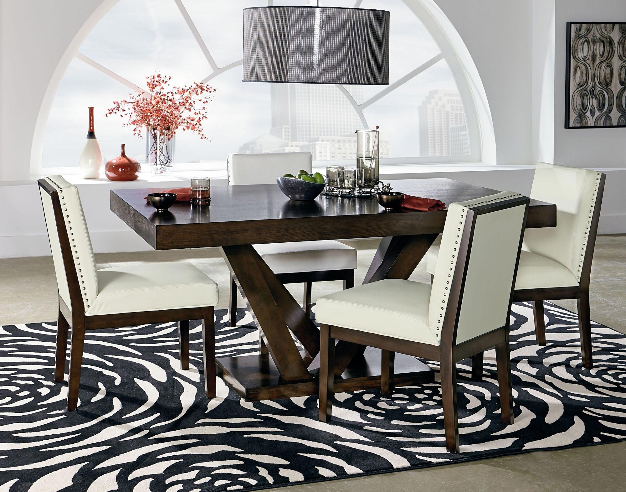 Couture Elegance Dining Pedestal Table   Standard Furniture   Home ...