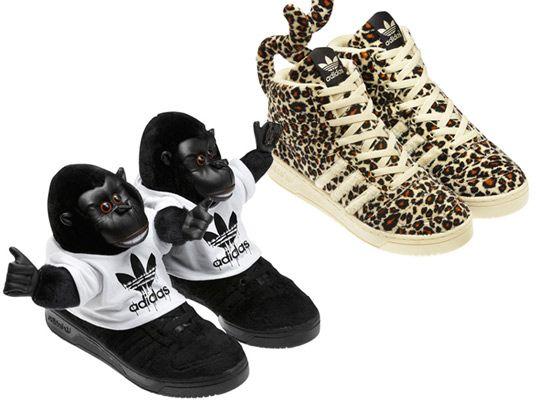sports shoes c78d5 5f579 adidas Originals by Jeremy Scott Spring Summer 2012 Footwear