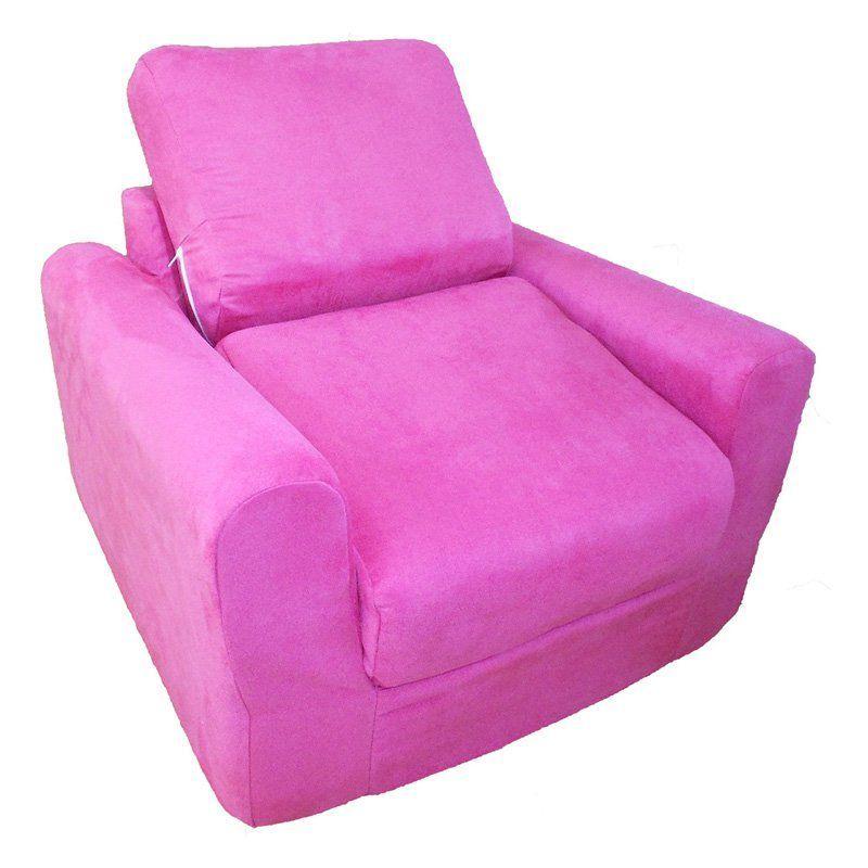 Fun Furnishings Fuchsia Chair Sleeper 20204 Furniture