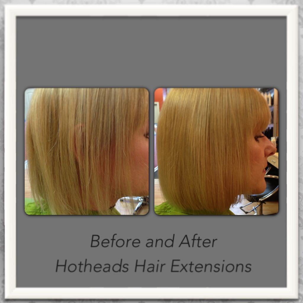 Fine, thinning hair? Hotheads hair extensions to the rescue ...