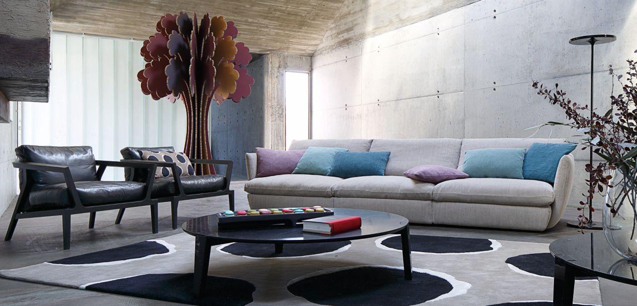 roche bobois floor cushion seating. AGIORNO Straight Composition - Roche Bobois \u003cbr\u003eUpholstered In Agiorno Fabric. Entirely Removable Floor Cushion Seating