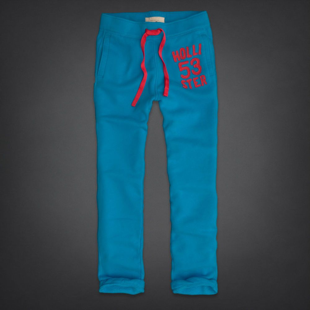 Hollister by Abercrombie and Fitch!New Mens Turquoise Blue Classic ...