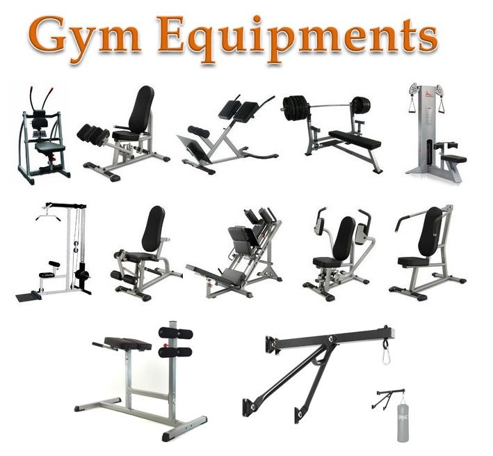 Fitness equipment gym exercise