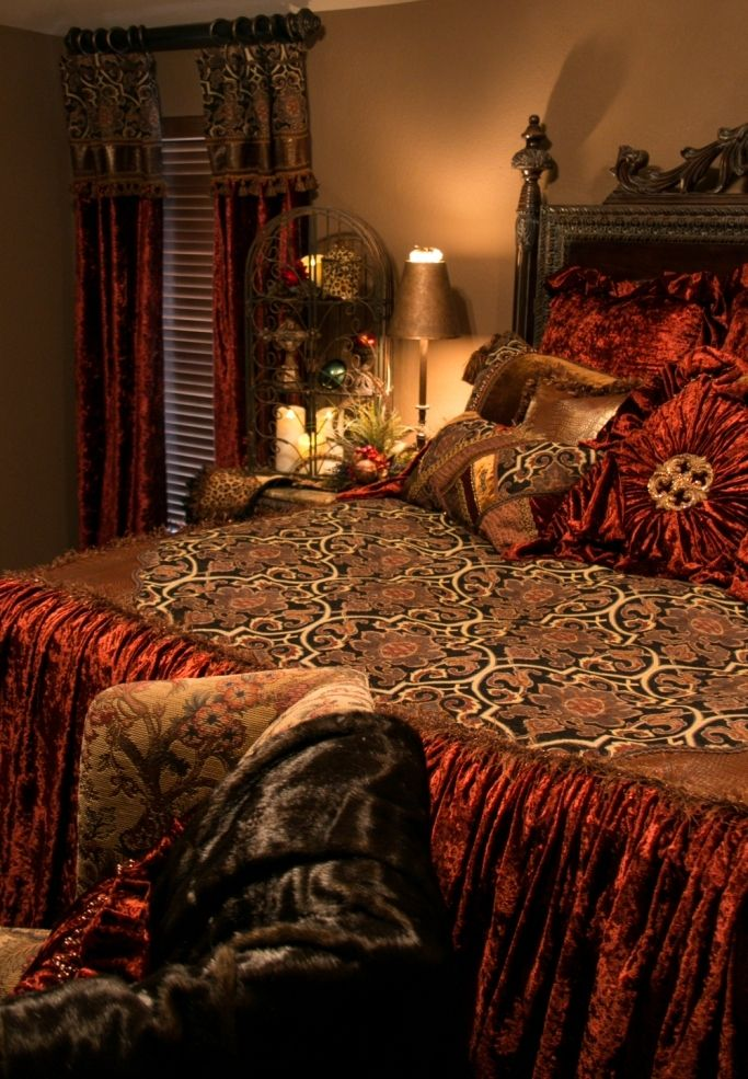 High End Luxury Bedding by ReillyChance Collection Bed