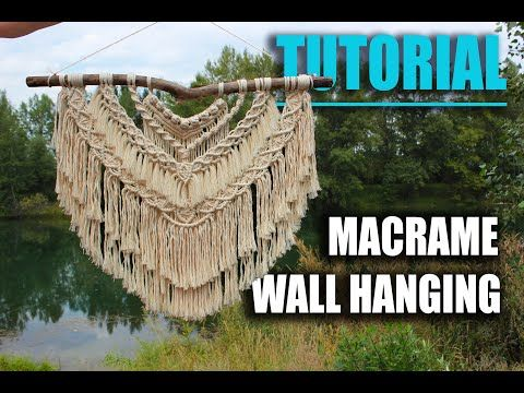DIY Macrame Wall Hanging | exclusive tutorial by Macramessage |