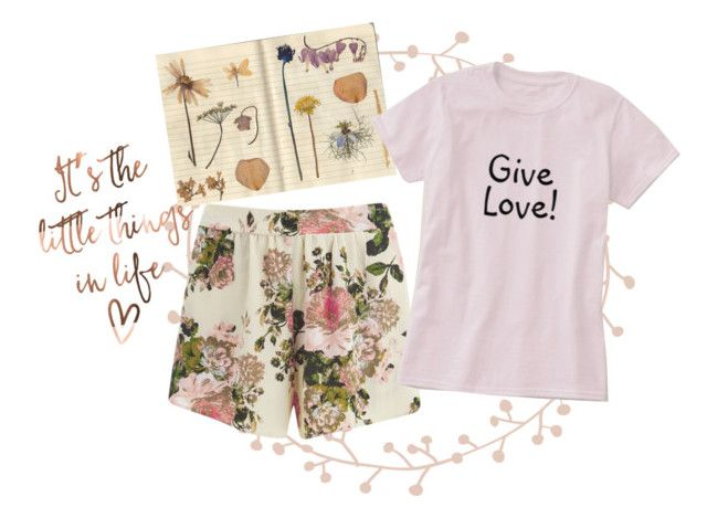 Nature Gal! by vanidclothing on Polyvore featuring VILA, nature, goodvibes, zazzle, givelove and vanidclothing