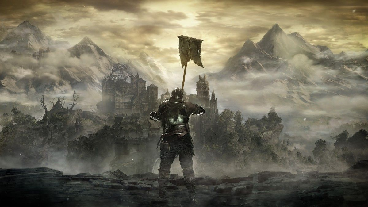 New Dark Souls 3 Screenshots Reveal The Firelink Shrine And Possibly A Furtive Pygmy Dark Souls Dark Souls 3 Dark Souls Wallpaper