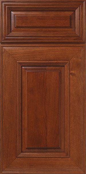 Cherry Mitered Cabinet Door Walzcraft Jain Residence Cabinet