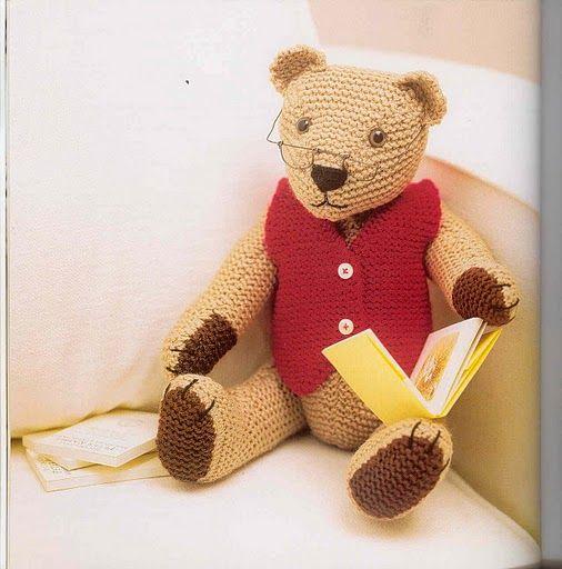 Robert 1 | Teddy bear clothes, Knitted teddy bear, Teddy ...