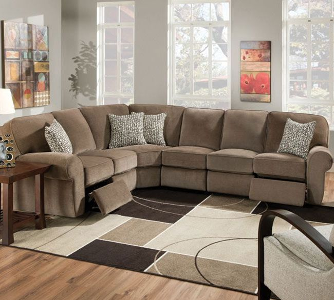 Lane 343 Megan Sectional | Lane Reclining Sectional | Lane Sectional : recliner sectional couches - islam-shia.org