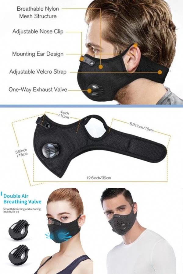 fine guard n95 face mask washing in 2020 Mask