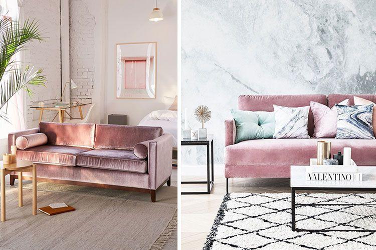 Interiores Con Estilo En Rosa Palo Decoracion De Interiores Decoracion De Muebles Decoracion De Unas