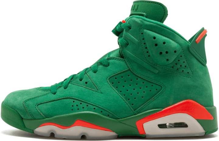 924b7a9c206 Air Jordan 6 Retro NRG Pine Green/Orange Blaze 'Green Suede Gatorade ...