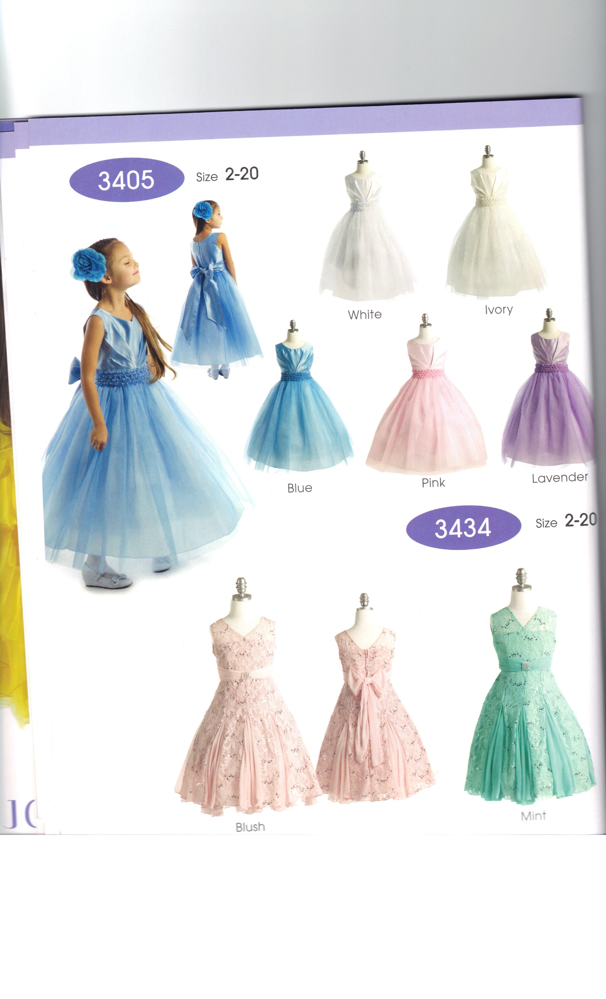 New Styles New Dress Books have arrived. Love the new styles and colors. #GirlsDresses